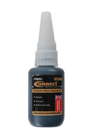 Connect 35301 Black Superglue C480 20g Bottle